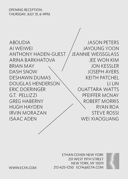 ECFA Summer 2014 Group Show